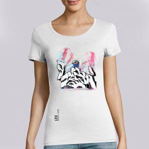 T-shirt Femme LEK : Asphalte Hurlante big