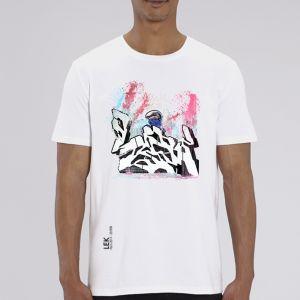 T-shirt Homme LEK : Asphalte Hurlante big
