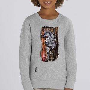 Sweat enfant Ardif : Seahorse Mechanimal big