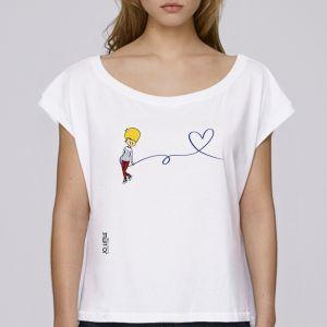 T-shirt femme Jo Little : Jo Love big