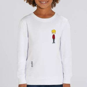 Sweat enfant Jo Little : Jo Rouge small
