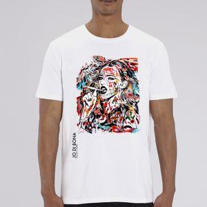 T-shirt Homme JO DI BONA : Smoking Girl big