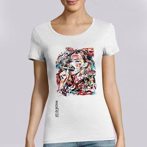 T-shirt Femme JO DI BONA : Smoking Girl big