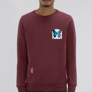 Sweat Homme Ardif : Butterfly mechanimal small