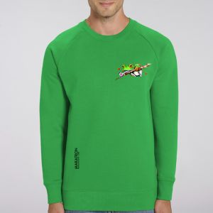 Sweat Homme Makatron : Ash Frog small