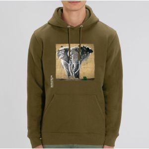 Sweat Homme Makatron :   Elephant warehouse big