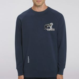 Sweat Homme Polar Bear : Tigre don't make us history small