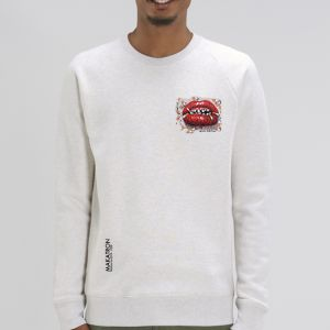 Sweat Homme Makatron : Ciggy lips small