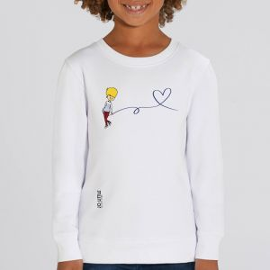 Sweat enfant Jo Little : Jo Love big