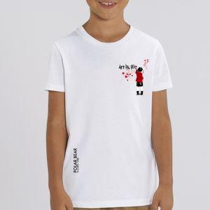 T-shirt enfant Polar Bear : art is life small