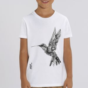 T-shirt enfant Ardif : Hummingbird mechanimal  big