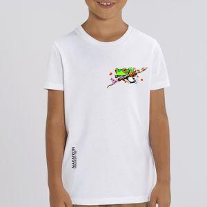 T-shirt enfant Makatron : Ash Frog small