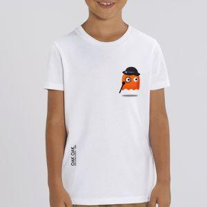 T-shirt enfant Oak Oak : Orange Ghost Revenge small