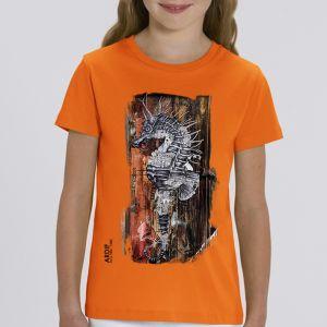 T-shirt enfant Ardif : Seahorse Mechanimal big