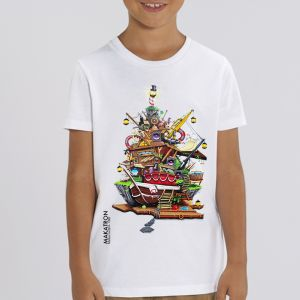 T-shirt enfant Makatron : House of fun big