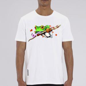 T-shirt homme Makatron : Ash Frog big
