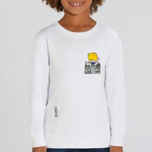 Sweat enfant Jo Little : Jo Take care small