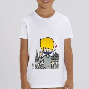 T-shirt enfant Jo Little : Jo Take care big