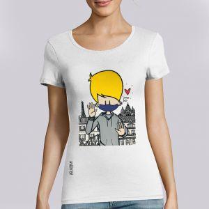 T-shirt femme Jo Little : Jo Take care big
