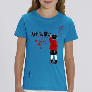 T-shirt enfant Polar Bear : art is life big