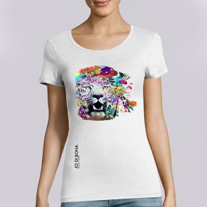 T-shirt Femme JO DI BONA : Le M.U.R Vironvay big