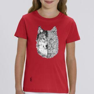 T-shirt enfant Ardif : Wolf mechanimal big