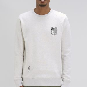 Sweat Homme Ardif : Wolf mechanimal small